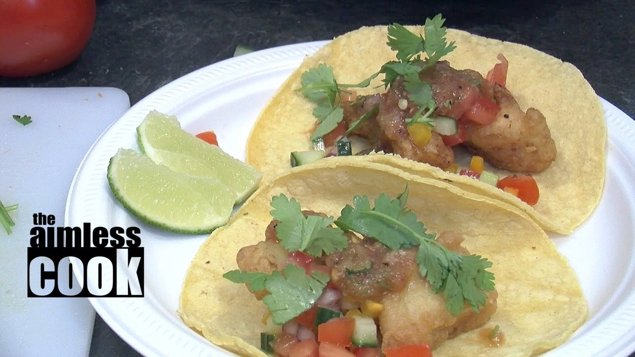 Fresh and easy fish taco recipe