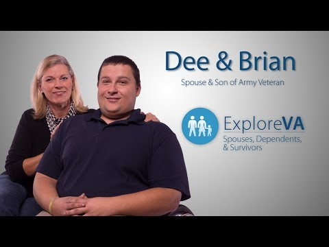 VA benefits help Brian live with a birth defect linked to his father's service.