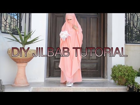 HOW TO MAKE JILBAB| EASY TUTORIAL 💁| Bobiz Kollection