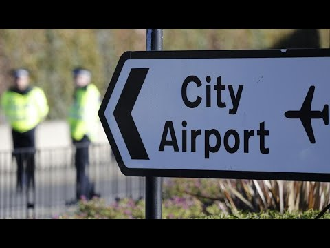 London City Airport shuts down after unexploded WWII bomb found