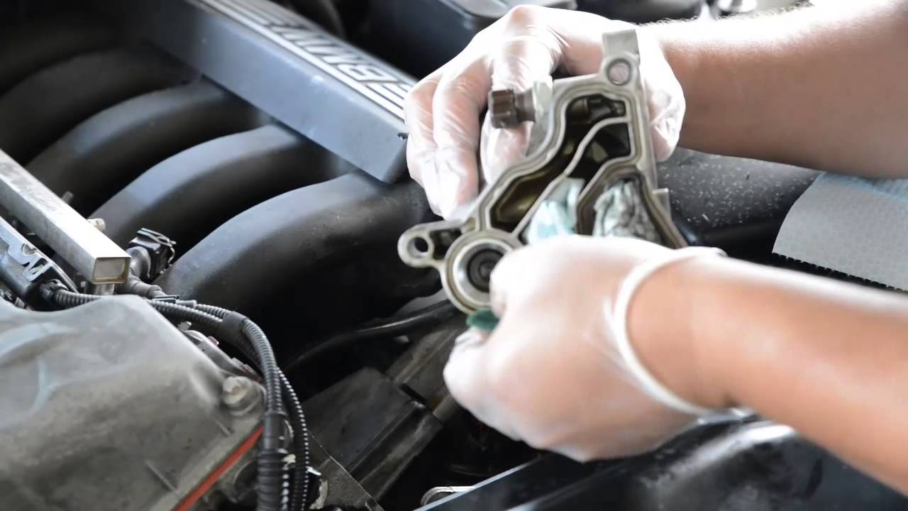 Bmw Oil Filter Housing And Cooler Gasket Repair Youtube