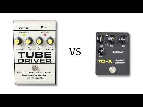 BK Butler Tube Driver vs Buffalo TD-X