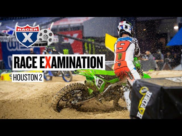 Cianciarulo & Sexton Crash, Forkner & Hampshire Clash | Houston 2 Race eXamination