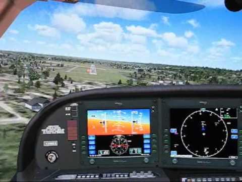 Eaglesoft Cirrus Test Flight