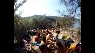 """"""" Voyage au centre de la mer"""" Pédagogique, parc national de Port-Cros. 2011-2012"""