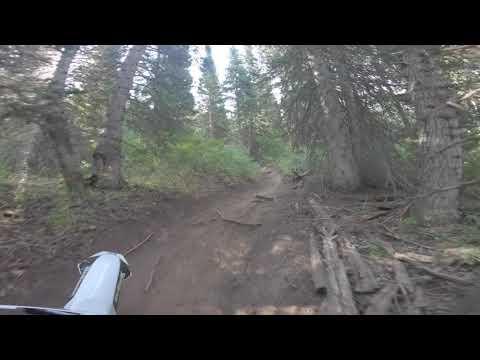 American Fork Canyon Utah Single Track Husqvarna 450 FX