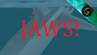 Roblox Jaws! W Gmon & Jonty - Roblox Gameplay