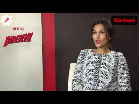 """Elodie Yung (Daredevil) : """"On tombe sous le charme de Charlie Cox"""""""