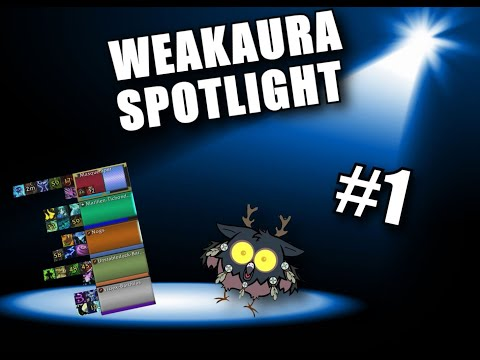 Weakaura Spotlight #1 ZENTRACKER (WOW 8 1)