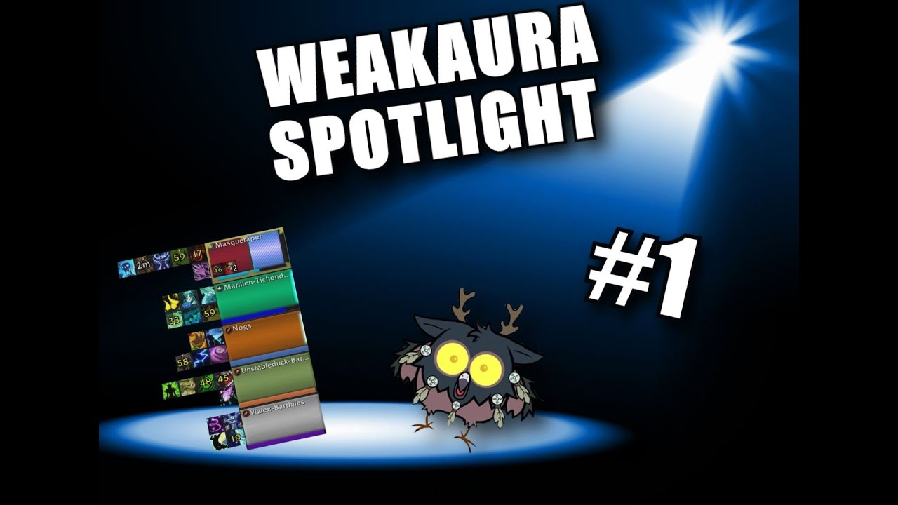 Repeat Weakaura Spotlight #1 ZENTRACKER (WOW 8 1) by NOGS - You2Repeat