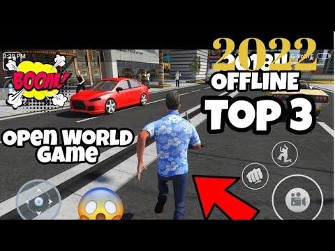 TOP-3 OPEN WORLD OFFLINE MOBILE GAMES MUST TRY!! IN 2018!!
