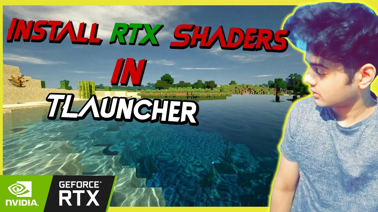 How to install rtx shaders in Minecraft/Tlauncher  Latest Download  Tutorial  Work with all version