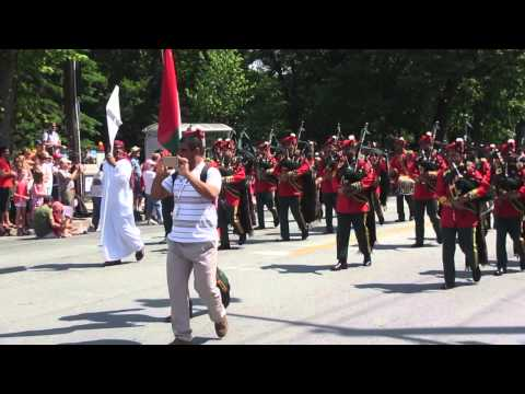 Royal Army of Oman Pipes & Drums 2015