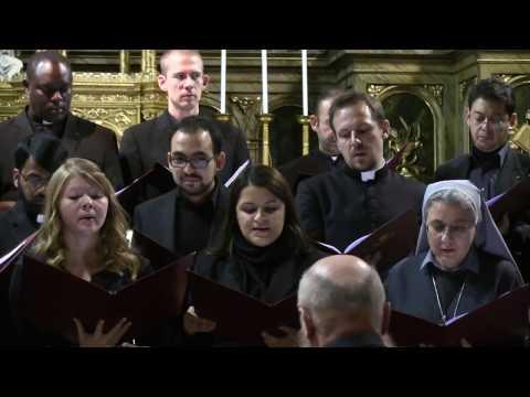 Schola Gregoriana del Pontificio Istituto di Musica Sacra di Roma - Bratislava 22-10-2016