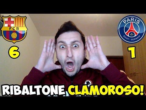 REMUNTADA CLAMOROSA! BARCELLONA-PSG 6-1?!