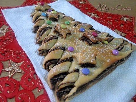Albero pan brioche ricetta natalizia christmas tree for Bimby ricette dolci