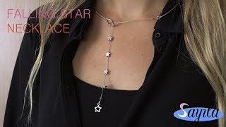 Sieraden maken - Falling Star Necklace (DIY Tutorial by Sayila)