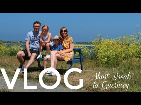 Guernsey Channel Islands - A Family Break ǀǀ VLOG