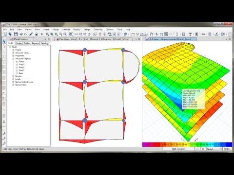 ETABS 2016 Design of Reinforced Concrete Frame (Column & Beam)