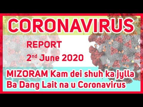 Report 2/6/2020 Naka Jylla Ba Lait Shah Ktah Ka Mizoram Ha U Coronavirus