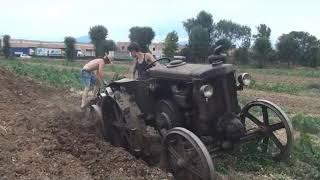 aratura trattori  landini testa  calda    a malpaga  2017  1° video