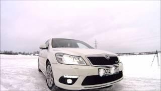 White Dream Octavia a5 RS KO4 4WD + DQ500(Всем привет!Владелец авто осуществил свою мечту, установил полный привод в Skoda Octavia a5 RS=) Теперь под капотом..., 2017-01-14T17:00:14.000Z)