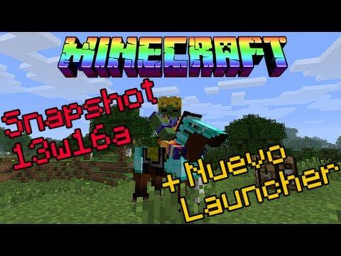 minecraft 1.6 snapshot 13w16a