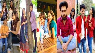 New Tik Tok Video   Darling Aankhon Se Aankhein Chaar Karne Do   Funny & Romantic Video
