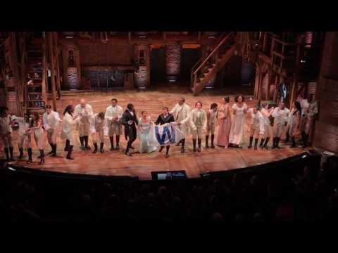 Chicago Cast of Hamilton sings Go Cubs Go!