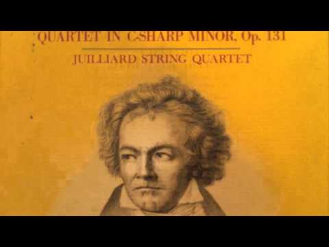 Beethoven String Quartet No14 in Csharp minor, Op131 6th Movement