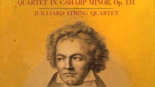 Beethoven String Quartet No.14 in C-sharp minor, Op.131 (6th Movement)