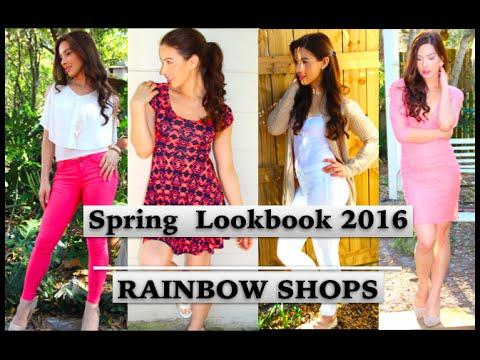 Spring Lookbook 2016 - RAINBOW SHOPS | Caroland