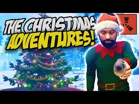 THE START OF MY CHRISTMAS ADVENTURES! - Rust Solo Survival Gameplay