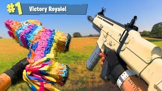 Airsoft War: Fortnite Battle Royale First Person Shooter In Real Life! | TrueMOBSTER
