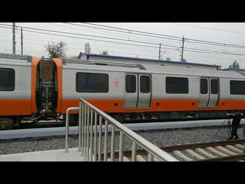 New MBTA Orange Line cars in action in China