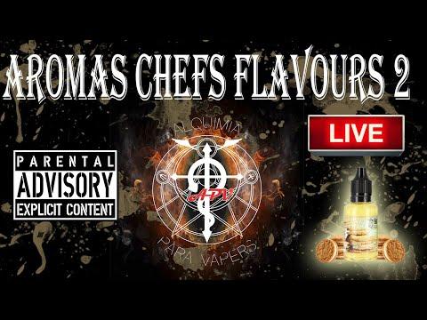 APV 239. Revisión aromas Chefs Flavours 2