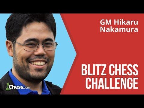 Hikaru Nakamura Makes A Blitz Chess Challenge: 50 Games