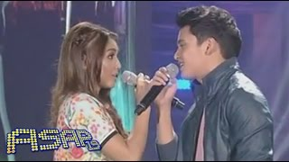 "James, Nadine sing ""Bahala Na"" on ASAP"