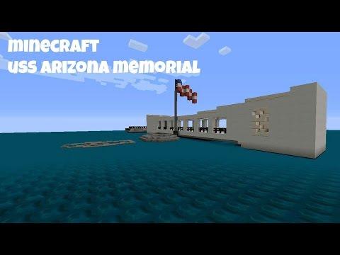 minecraft uss arizona memorial
