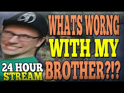 24 HOURS OF HEARTS OF IRON 4!? (nope) MY BROTHER JOINS THE VIDEO! - HOI4 Multiplayer + more