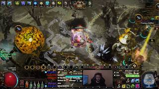 Path of Exile 3.8 - T14 Blight Map - SPAM METEOR TOWERS