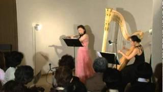 Fantasie Pastorale Hongroise (A.F.Doppler)  ハンガリー田園幻想曲  flute & harp
