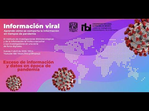 Foro Exceso de información y datos en época de pandemia [51]