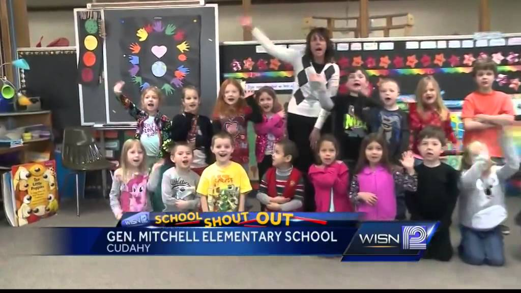 2/6 Shout Out: Mrs  Shervey's 5-year-old kindergarten class, General  Mitchell Elem , Cudahy