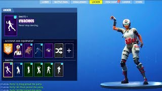 ALL *NEW* SKINS & EMOTES SHOWCASING in Fortnite! (Vivacious, Hitchhiker, Battle Call, My Idol)