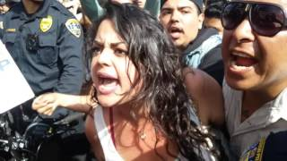 chaos erupts at trump rally in san diego 5 27 2016