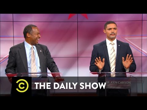 Dr. Ben Carson vs. Dr. Ken Carson: The Doctors Debate: The Daily Show