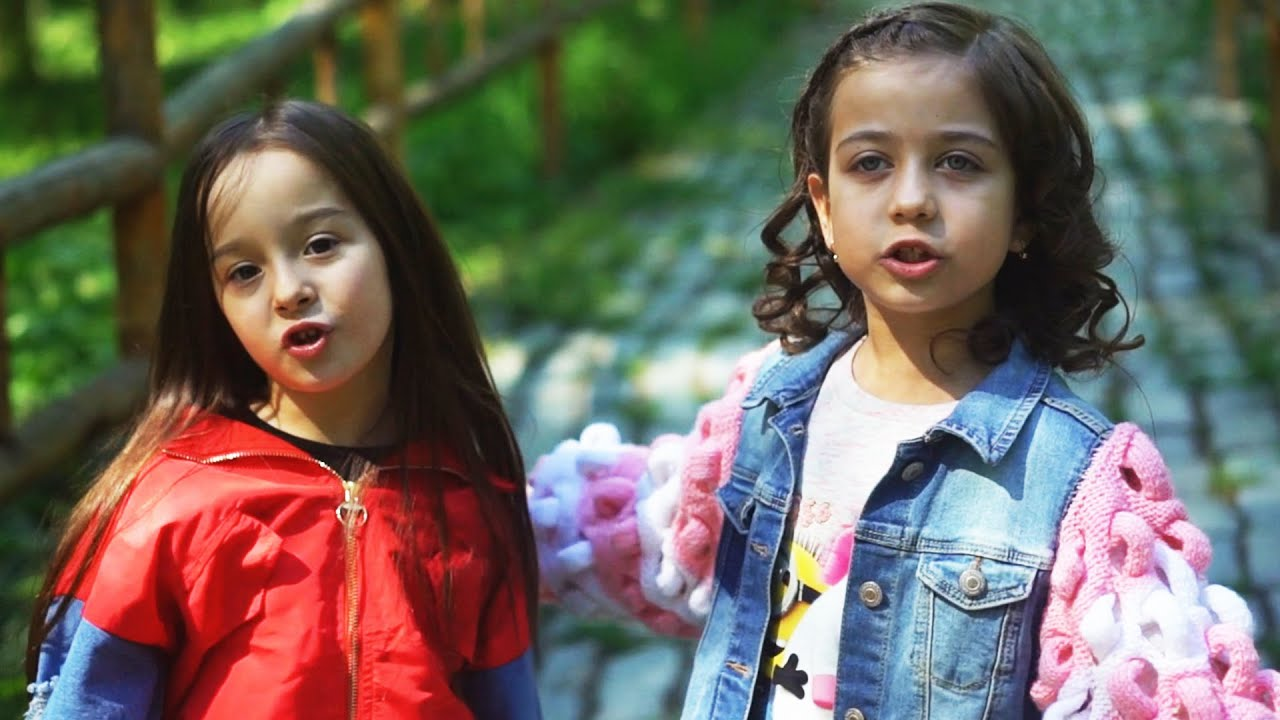 ემილია და რუსკა - გვეგებება ცისარტყელა (ოფიციალური კლიპი Emili TV-ზე)