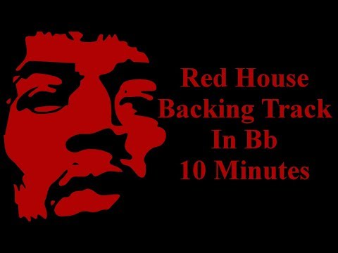Red House Jam Track In Bb -12 bar Blues Jam Track In Bb