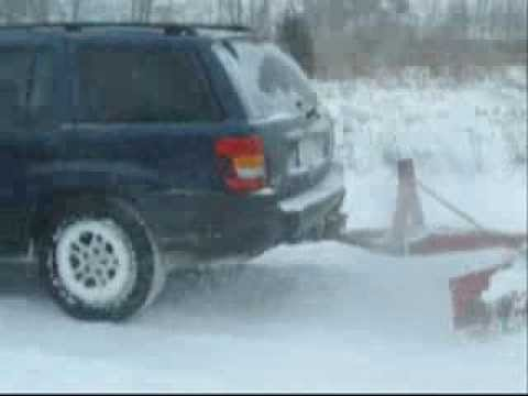 Hitch N Plow Suv Plowing Snow Low Cost Snow Plow